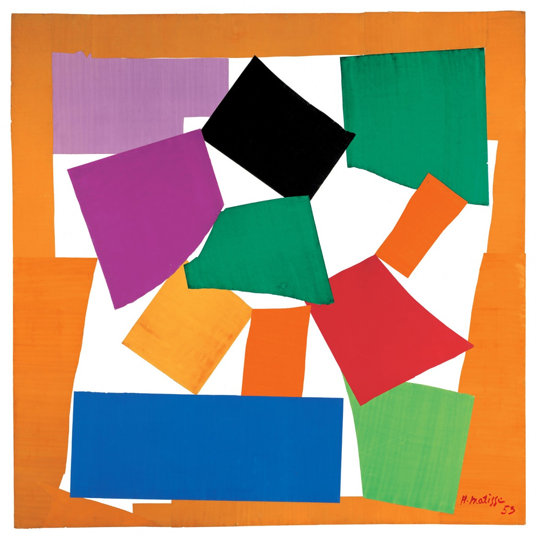 Henri Matisse, «The Snail», 1953, Londra, Tate Gallery
