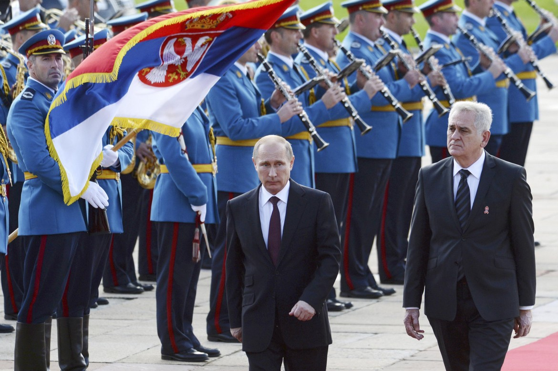 Putin a Belgrado
