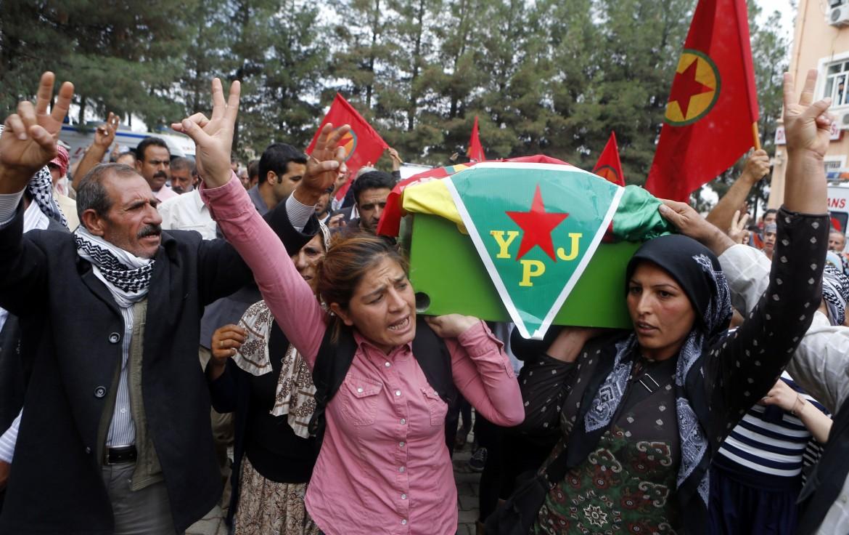 Donne kurde delle Unità di protezione popolare