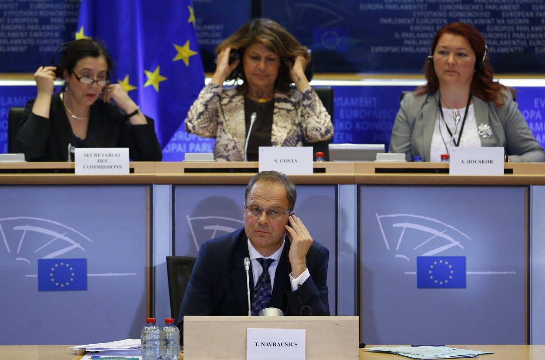 L'audizione  in Commissione cultura a Bruxelles dell'ungherese Tibor Navracsics