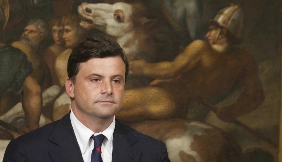 Il viceministro Carlo Calenda