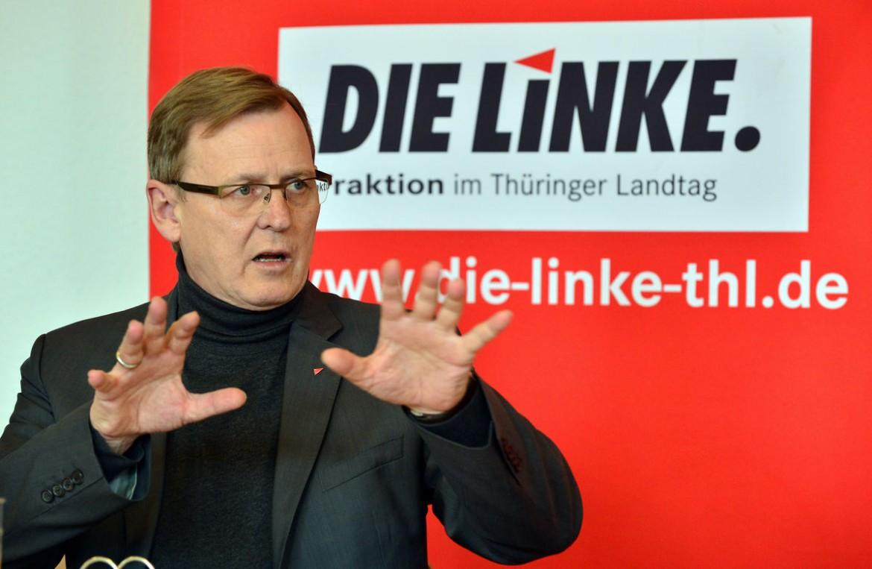 L'ex sindacalista Bodo Ramelow diventerà il primo esponente della Linke a guidare il governo di un Land