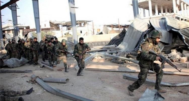 Reparti governativi siriani in una foto scattata nei mesi scorsi nella regione montuosa del Qalamoun