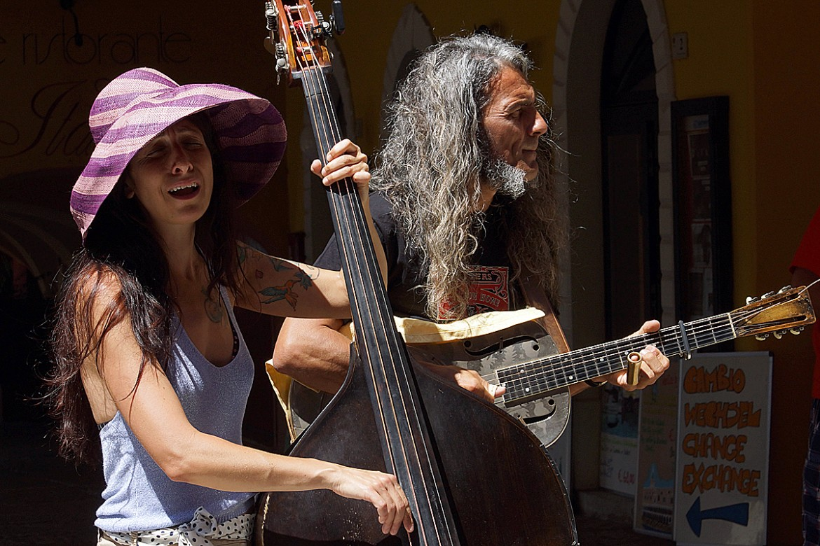Reverend and the Lady, sotto Marco Pandolfi trio