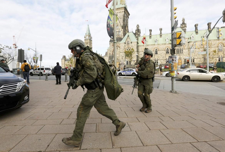 Forze speciali canadesi a Ottawa