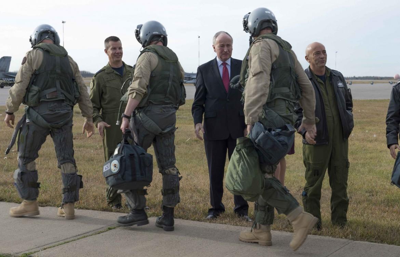 Soldati canadesi in partenza per l'Iraq