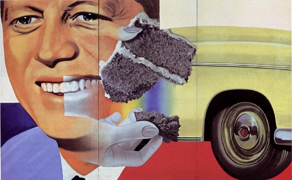 President Elect di James Rosenquist, 190-1/1964