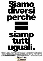 siamo diversi perche siamo tutti uguali