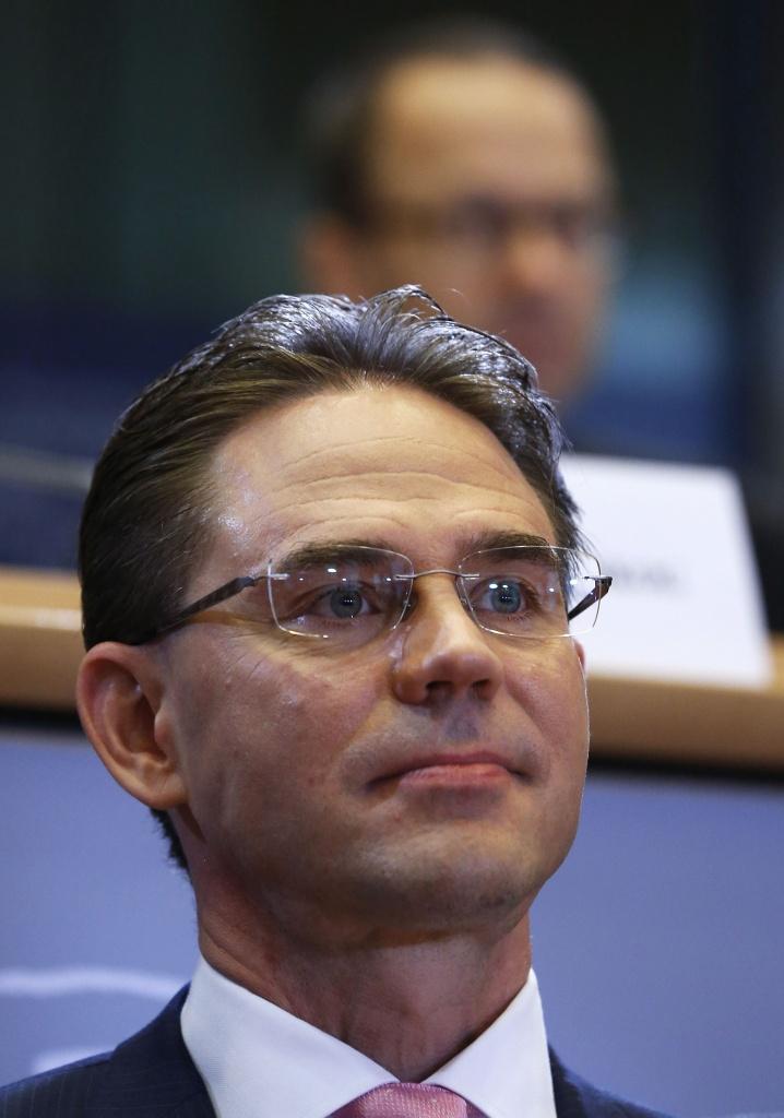 Jyrki Katainen,  commissario europeo per gli affari economici e monetari