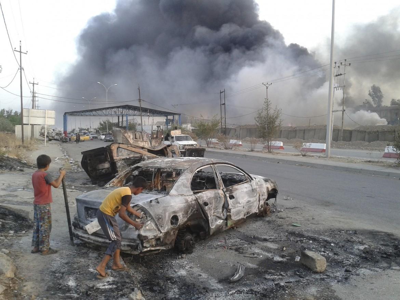 Autobomba in Iraq