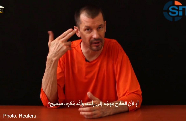 L'ostaggio britannico dell'Isis, John Cantlie