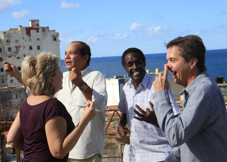 una scena del film Ritorno all'Avana
