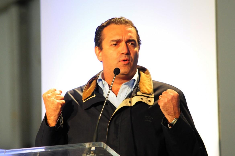 Il sindaco di Napoli, Luidi De Magistris