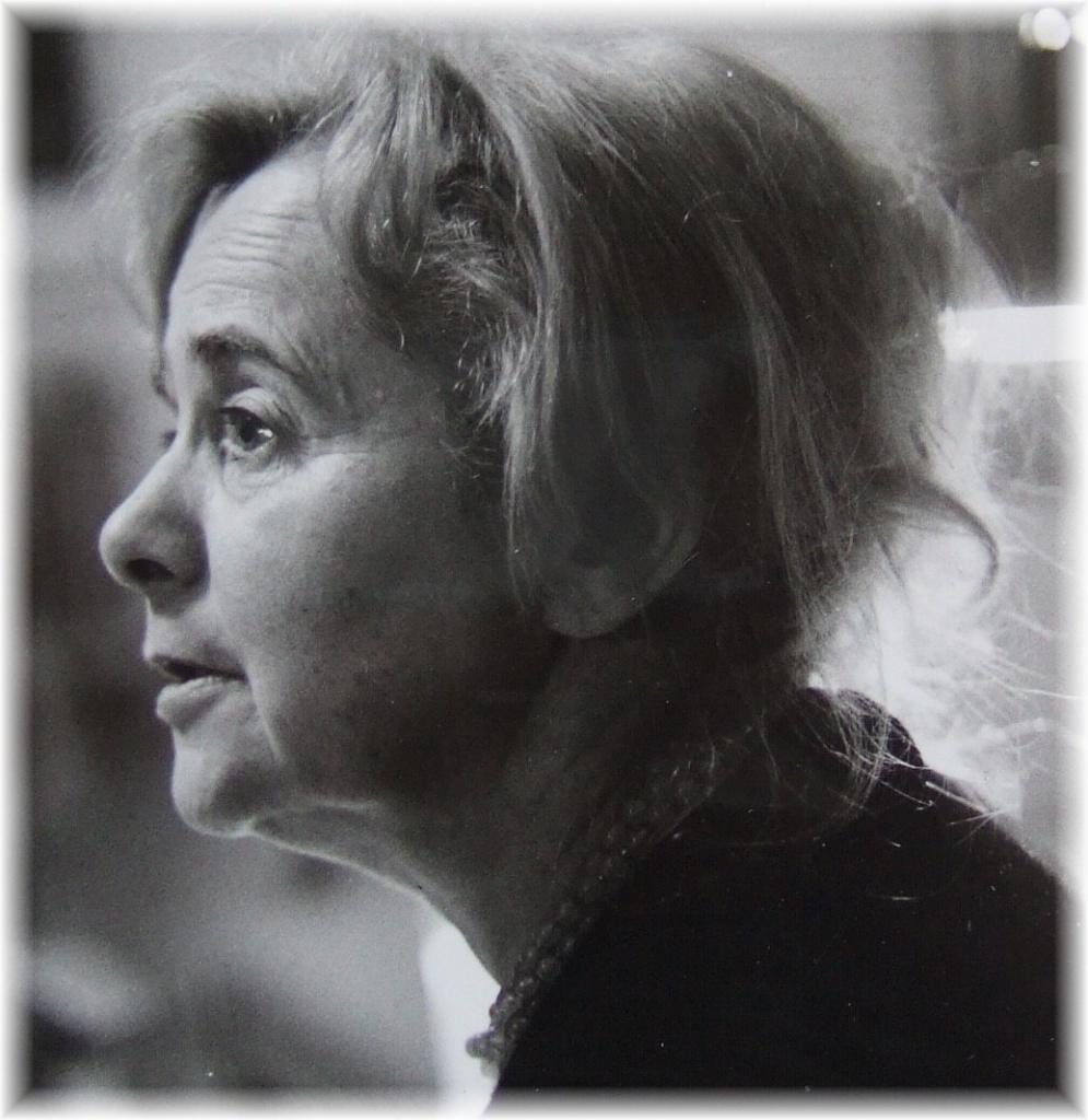 Un ritratto della scrittrice ebrea tedesca Hilde Domin