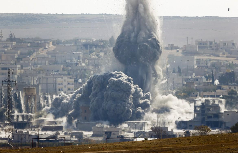 Bombe statunitensi su Kobane