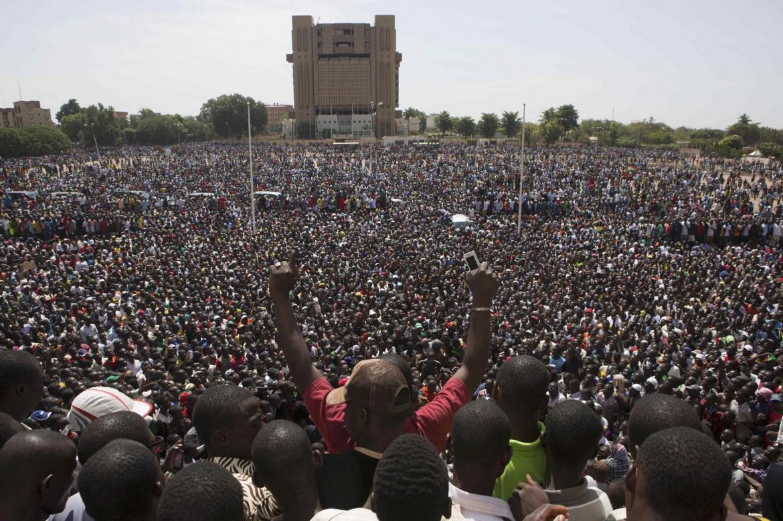 Place de la Nation, Ouagadougou, ieri