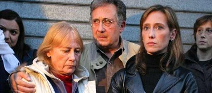 La madre, il padre e la sorella di Stefano Cucchi