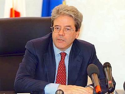 Il nuovo ministro degli Esteri Paolo Gentiloni