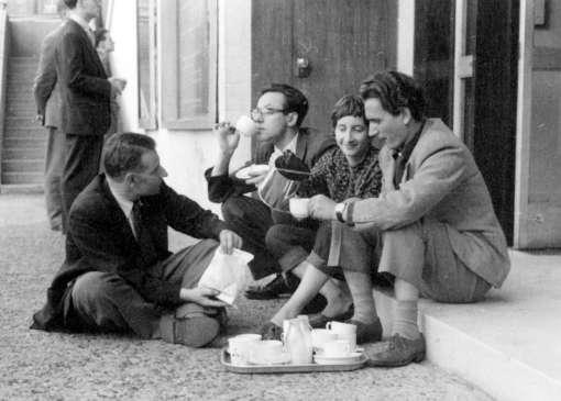 Lorenza Mazzetti negli anni del free cinema a Londra con Daniele Paris,John Fletcher e Lindsay Anderson