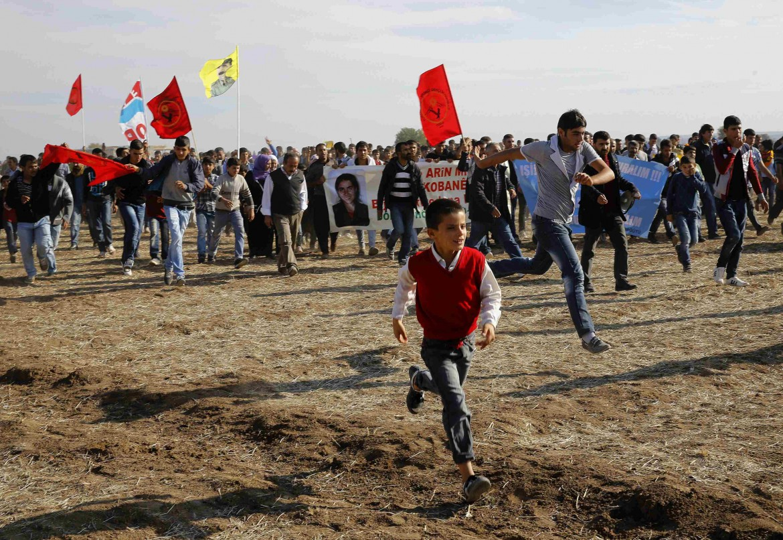 Marcia kurda per Kobane