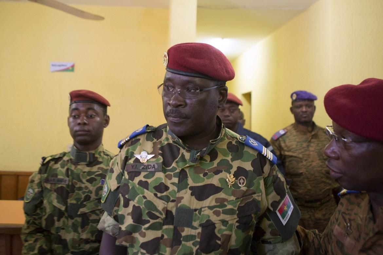 Il tenente colonnello Yacouba Isaac Zida