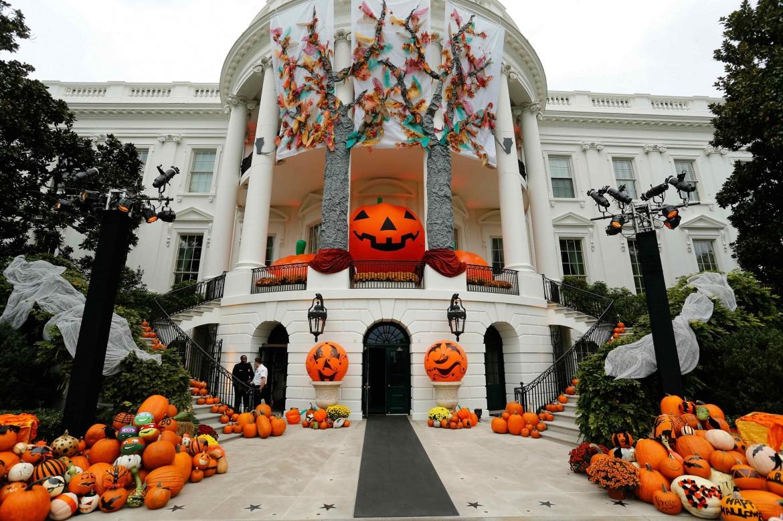 Casa Bianca in versione Halloween