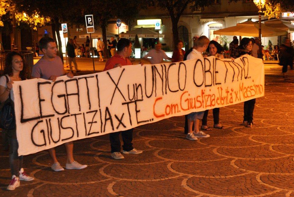 Manifestazione per Francesco Mastrogiovanni