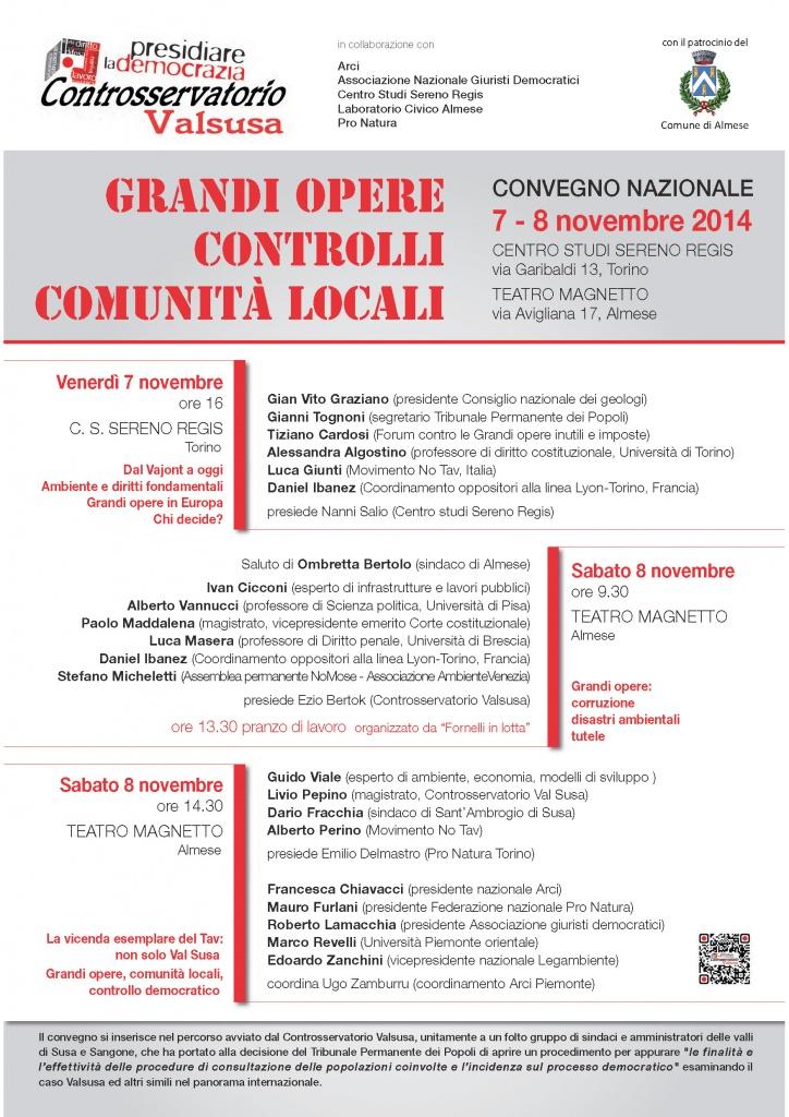 convegno grandi opere 7-8 nov2014 - locandinaA3