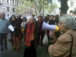 Manifestazioni a sostegno del museo di arte orientale a Roma