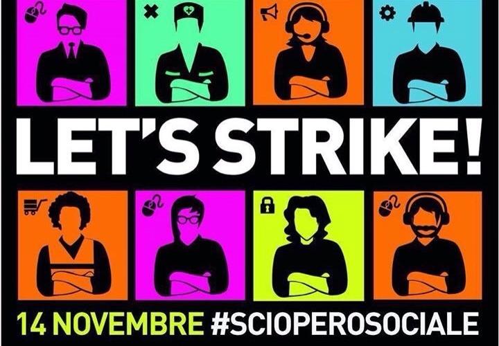 segui il blog: scioperosociale.it. Twitter: @strikemeeting - hashtag: #scioperosociale #incrocialebraccia