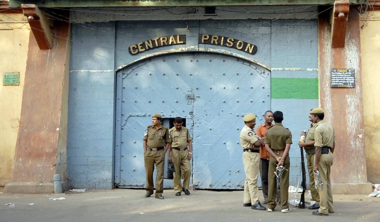L'ingresso di una prigione indiana