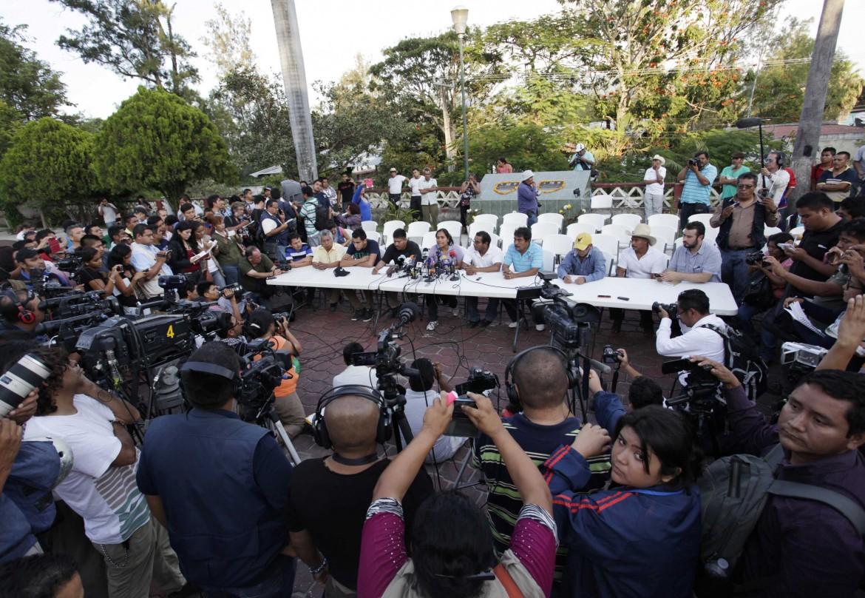 Manifestazione dei familiari dei ragazzi scomparsi