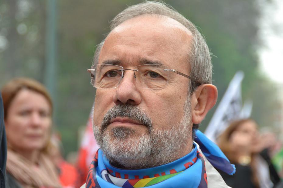 Il segretario generale aggiunto della Uil, Carmelo Barbagallo