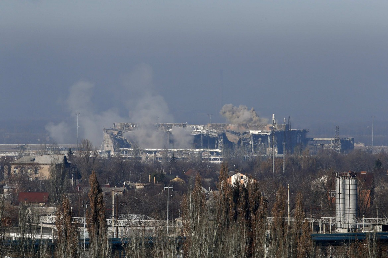 Donetsk sotto bombardamenti