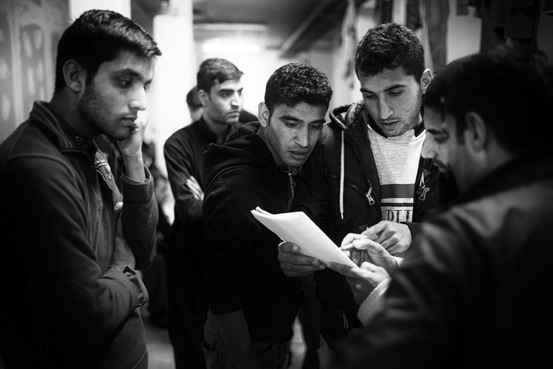 Trieste, profughi