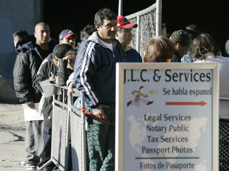 Stati uniti, migranti senza documenti
