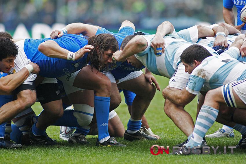 Italia-Argentina, immagine di repertorio