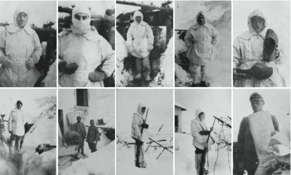 Luigi Coeta, Archivio diaristico nazionale, equipaggiamento invernale in dotazione del soldato in trincea