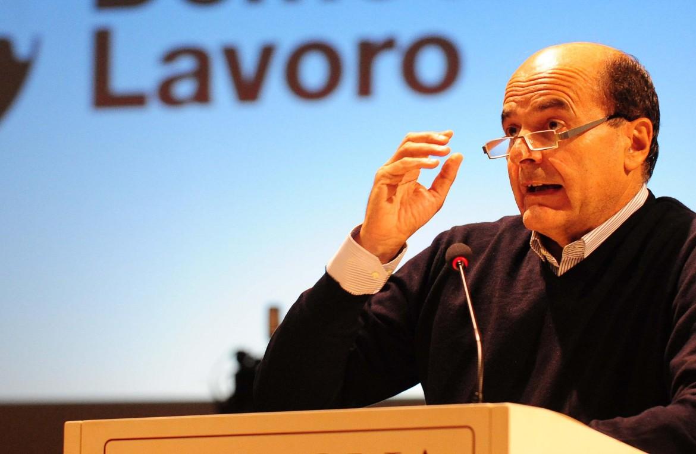 L'ex segretario del Pd Pierluigi Bersani