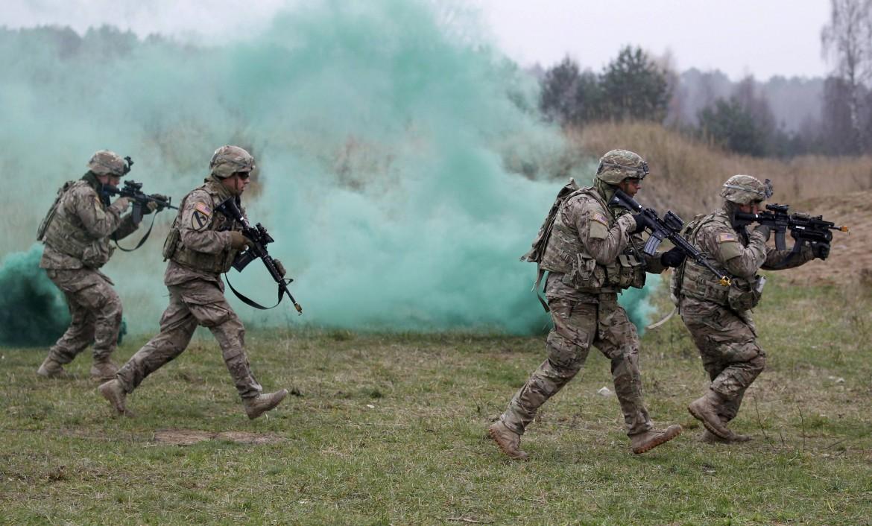 Soldati Usa in esercitazione in Polonia