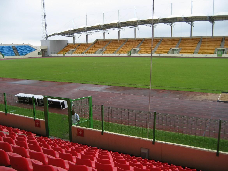 Il nuovo stadio di Malabo