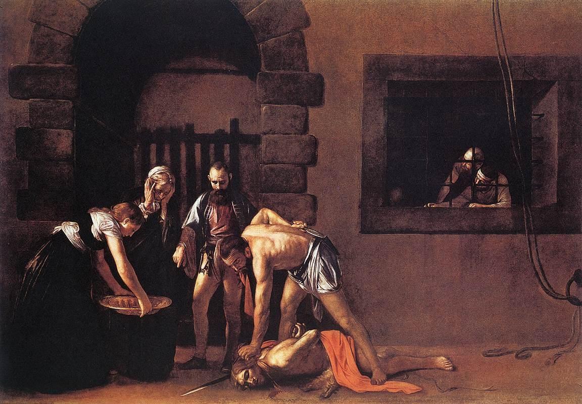 Caravaggio, «La Decollazione di san Giovanni Battista», 1608