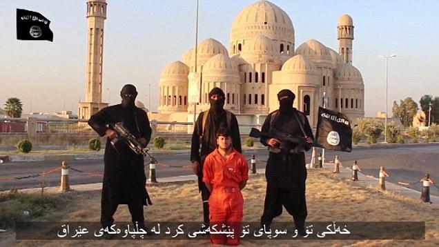 Un video pubblicato in precedenza dallo Stato Islamico