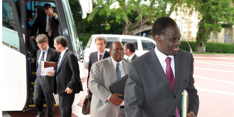 Michel Kafando, ex ministro degli Esteri e ambasciatore all'Onu