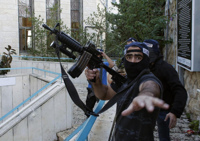 Poliziotto israeliano a Gerusalemme
