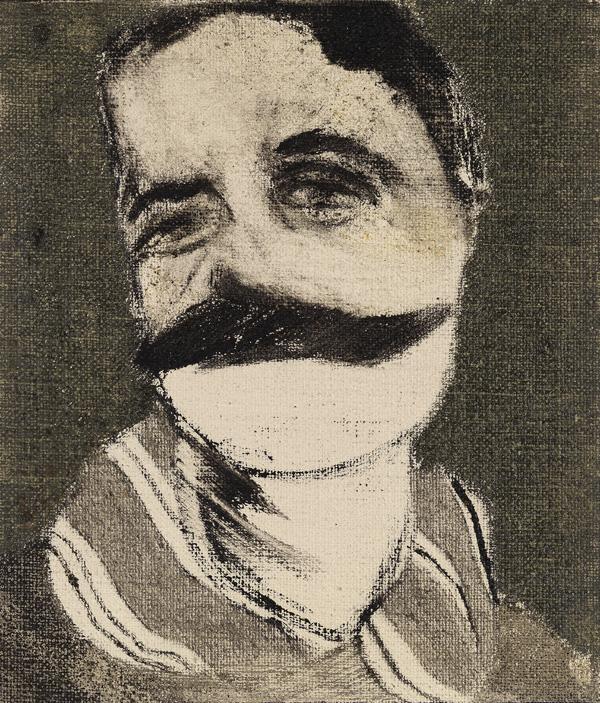Kitaj, Ritratto di Aby Warburg