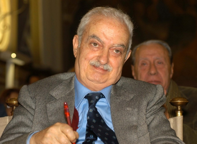 Emanuele Macaluso,storico sindacalista e dirigente del Pci