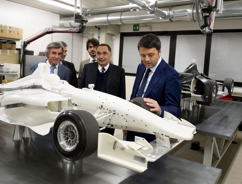 Lo stabilimento Dallara di Parma