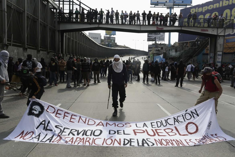 Protesta a Città del Messico