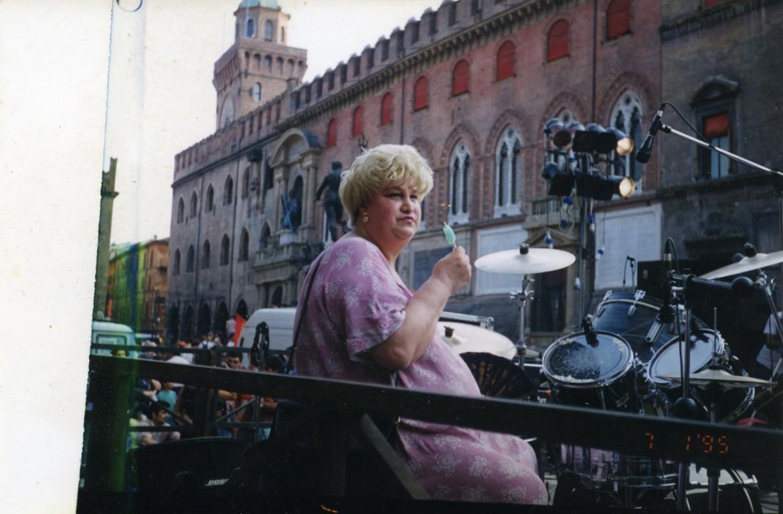 Marcella Di Folco al Pride del 1995